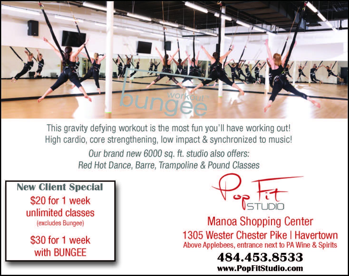 Pop Fitness ad
